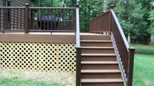 Culpeper Charlottesville Trex Deck Installation by Mid-Atlantic Home Improvement