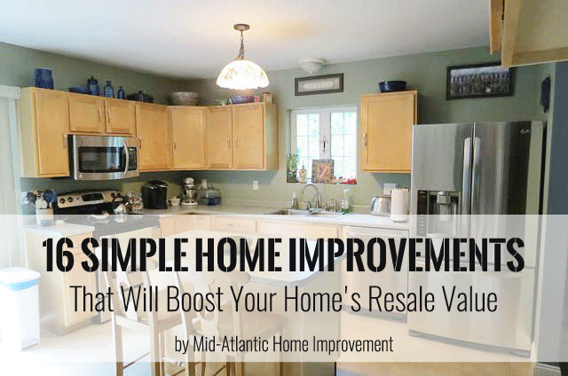 16 Simple Home Improvements That Will Boost Your Home's Resale Value